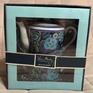 Vera Bradley Tea For One in Blue Rhapsody